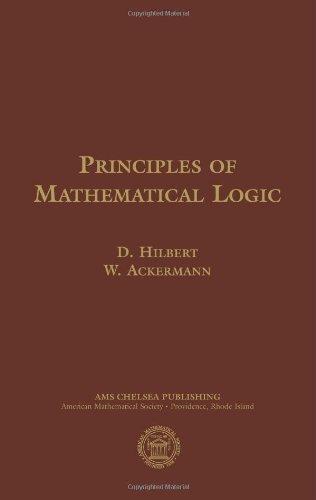 9780821820247: Principles of Mathematical Logic