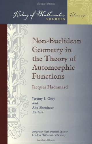 9780821820308: Non-Euclidean Geometry in the Theory of Automorphic Functions
