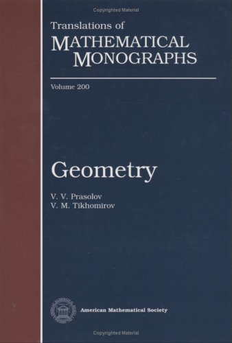 9780821820384: Geometry (Translations of Mathematical Monographs)