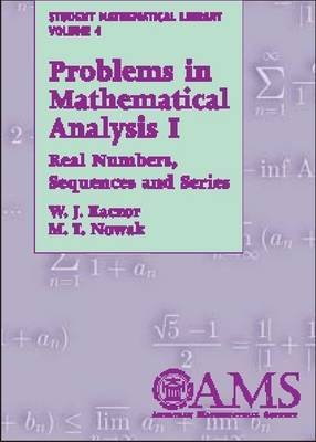 9780821820506: Problems in Mathematical Analysis I (Student Mathematical Library)