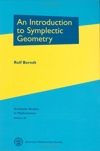 9780821820568: An Introduction to Symplectic Geometry (Graduate Studies in Mathematics) (Graduate Studies in Mathematics)