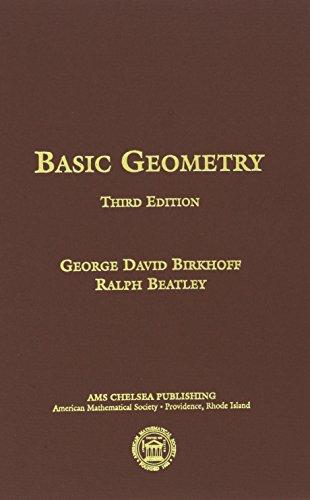 9780821821015: Basic Geometry (AMS Chelsea Publishing)