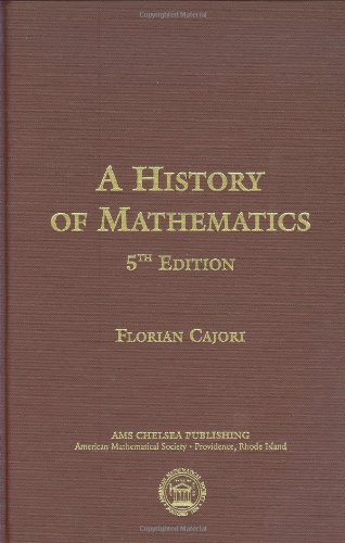 9780821821022: History of Mathematics (American Mathematics Society non-series title)