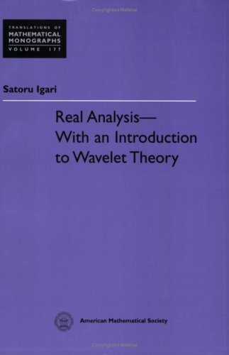 9780821821046: Real Analysis: With an Introduction to Wavelet Theory (Translations of Mathematical Monographs)