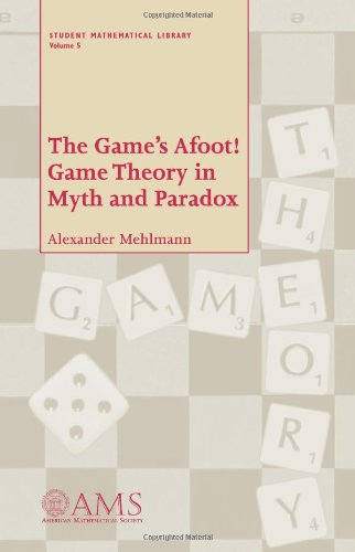 9780821821213: The Game's Afoot!: Game Theory in Myth and Paradox (Student Mathematical Library)