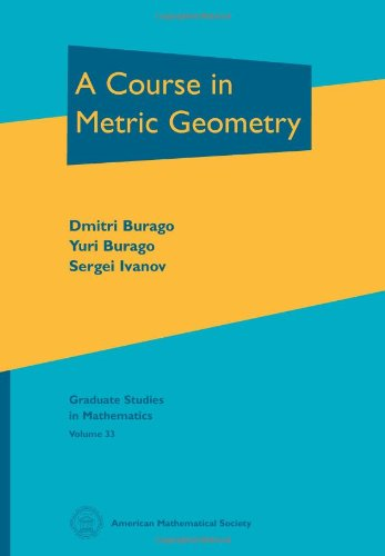 9780821821299: A Course in Metric Geometry