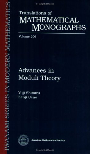 9780821821565: Advances in Moduli Theory (Translations of Mathematical Monographs)