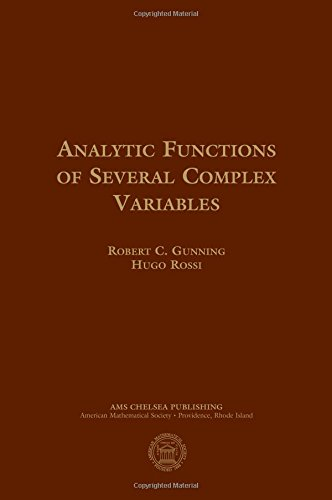 9780821821657: Analytic Functions of Several Complex Variables (AMS Chelsea Publishing)