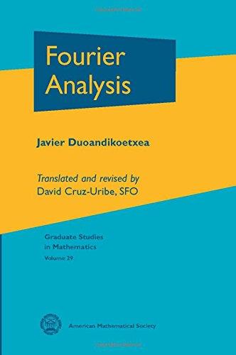 9780821821725: Fourier Analysis (Graduate Studies in Mathematics)