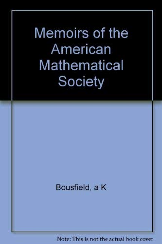 Homological localization towers for groups and II-modules (Memoirs of the American Mathematical ...