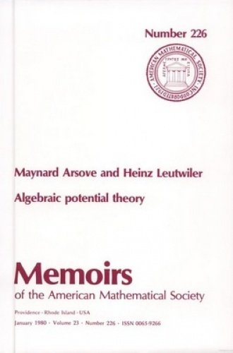 9780821822265: Algebraic Potential Theory (Memoirs of the American Mathematical Society)