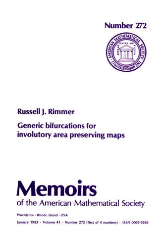 Generic Bifurcations for Involutory Area Preserving Maps. Memoirs of the American Mathematical ...