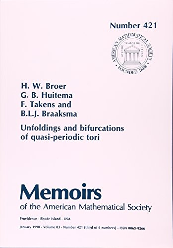 9780821824832: Unfoldings and Bifurcations of Quasi-Periodic Tori (Memoirs of the American Mathematical Society)