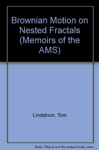 9780821824849: Brownian Motion on Nested Fractals (Memoirs of the American Mathematical Society)