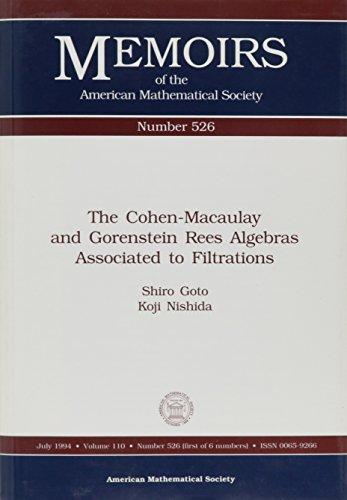 The Cohen-Macaulay and Gorenstein Rees Algebras Associated: Goto, Shiro, Nishida,