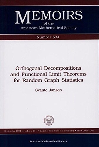 Orthogonal Decompositions and Functional Limit Theorems for Random Graph Statistics (Memoirs of the...