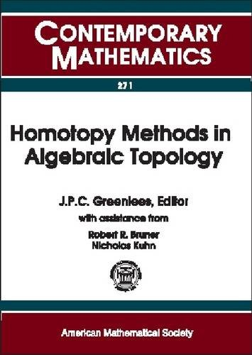 9780821826218: Homotopy Methods in Algebraic Topology: Proceeding of an Ams-Ims-Siam Joint Summer Research Conference Held at University of Colorado, Boulder, Colorado, June 20-24, 1999 (Contemporary Mathematics)