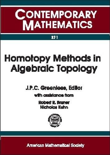 9780821826218: Homotopy Methods in Algebraic Topology (Contemporary Mathematics)