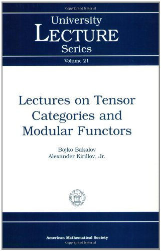 9780821826867: Lectures on Tensor Categories and Modular Functors (University Lecture Series)