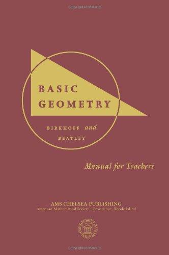 9780821826928: Basic Geometry - Manual for Teachers