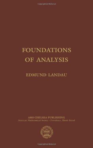 9780821826935: Foundations of Analysis: Third Edition