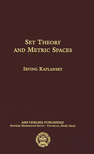 9780821826942: Set Theory and Metric Spaces (AMS Chelsea Publishing)
