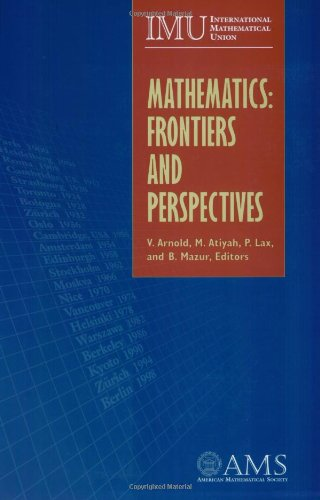 9780821826973: Mathematics: Frontiers and Perspectives (American Mathematics Society non-series title)