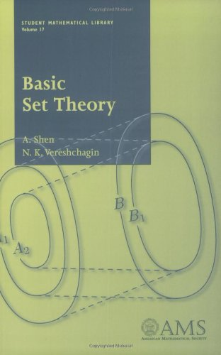 9780821827314: Basic Set Theory (Student Mathematical Library, V. 17)