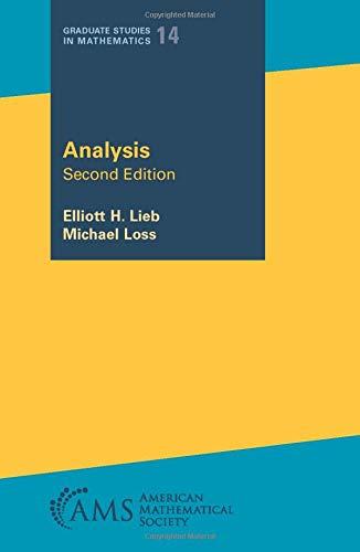 9780821827833: Analysis (Graduate Studies in Mathematics)