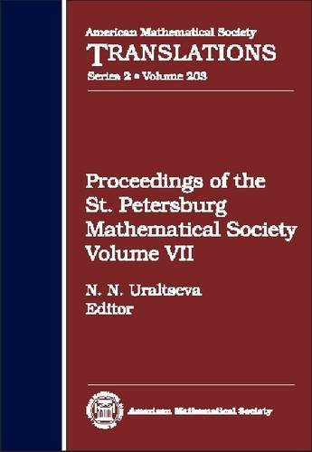 9780821827901: Proceedings of the St. Petersburg Mathematical Society Volume VII (American Mathematical Society Translations Series 2)