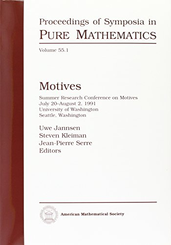9780821827970: Motives (Proceedings of Symposia in Pure Mathematics) (Pt. 1)