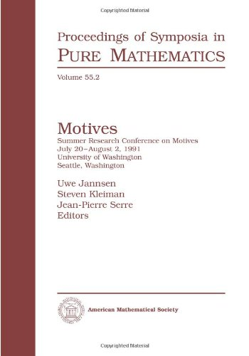 Motives (Proceedings of Symposia in Pure Mathematics): Amer Mathematical Society