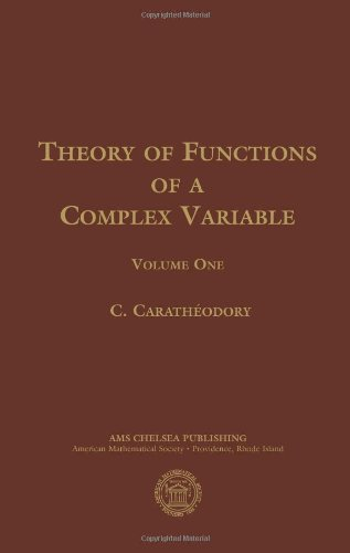 9780821828311: Theory of Functions of a Complex Variable, Volume 1 (AMS Chelsea Publishing)