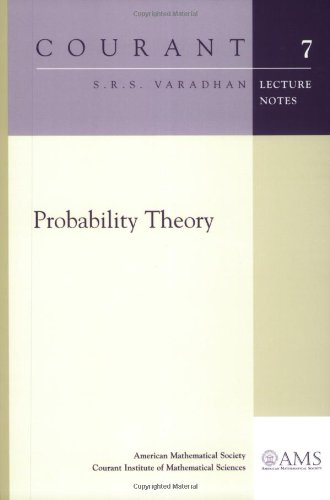 9780821828526: Probability Theory (Courant Lecture Notes)