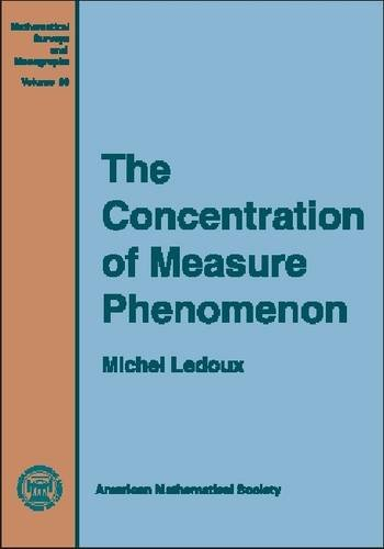 9780821828649: The Concentration of Measure Phenomenon (Mathematical Surveys and Monographs)