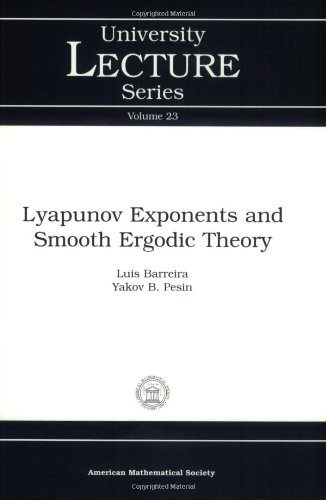 9780821829219: Lyapunov Exponents and Smooth Ergodic Theory (University Lecture Series)