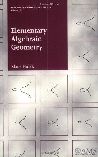 9780821829523: Elementary Algebraic Geometry (Student Mathematical Library)