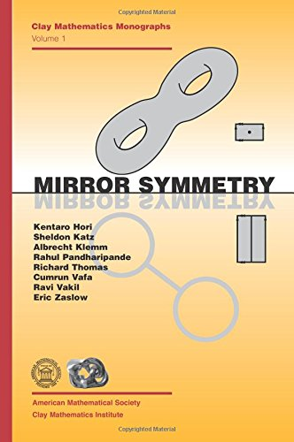 9780821829554: Mirror Symmetry (Clay Mathematics Monographs, V. 1)