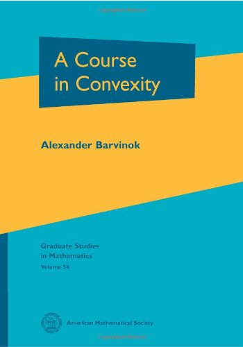 9780821829684: A Course in Convexity (Graduate Studies in Mathematics)