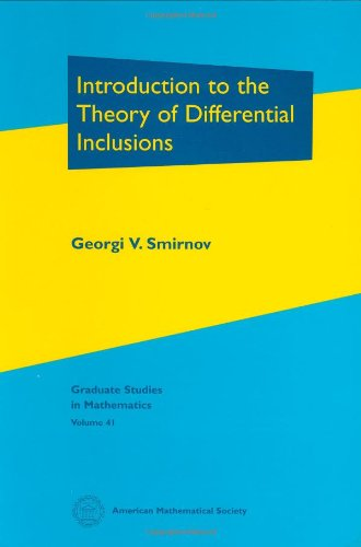 9780821829776: Introduction to the Theory of Differential Inclusions (Graduate Studies in Mathematics)