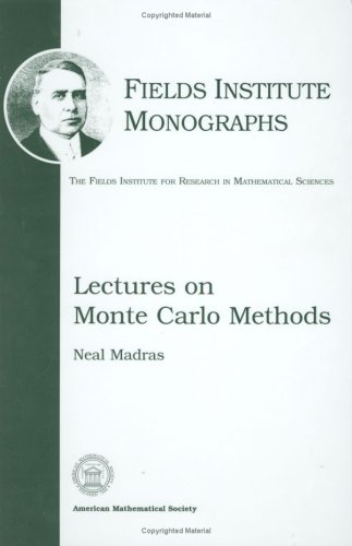 9780821829783: Lectures on Monte Carlo Methods