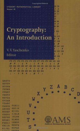 9780821829868: Cryptography: An Introduction (Student Mathematical Library, Vol. 18) (Student Mathematical Library, V. 18)