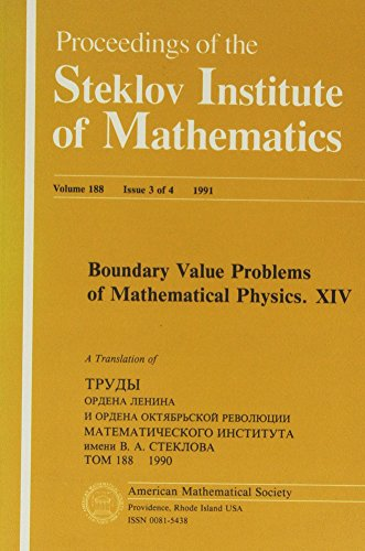 9780821830024: 5: Boundary Value Problems of Mathematical Physics
