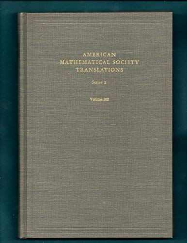 Fourteen Papers in Analysis American Mathematical Society Translations Series 2, Volume 102