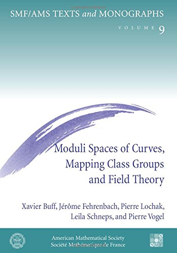 9780821831670: Moduli Spaces of Curves, Mapping Class Groups and Field Theory