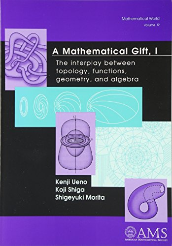 9780821832820: A Mathematical Gift, I: The interplay between topology, functions, geometry, and algebra: v. 1 (Mathematical World)