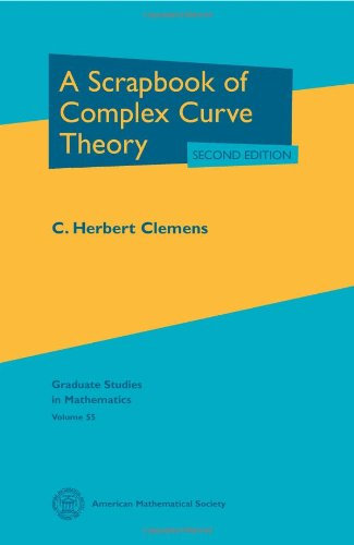 9780821833070: A Scrapbook of Complex Curve Theory: Second Edition