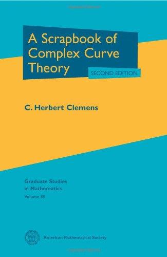9780821833070: A Scrapbook of Complex Curve Theory (Graduate Studies in Mathematics)