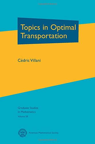 9780821833124: Topics in Optimal Transportation