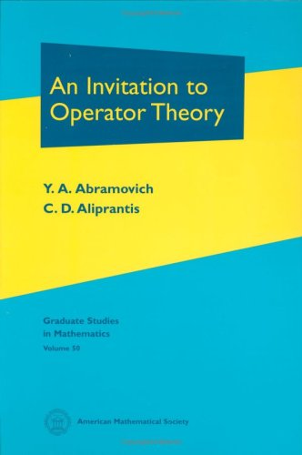 9780821833339: An Invitation to Operator Theory (Volume 50) and Problems in Operator Theory (Volume 51) (v. 50)